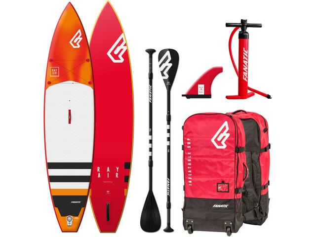 """Fanatic Ray Air Premium Kit pour escalade 11'6"""" Sup gonflable avec paddles et pompe, none"""